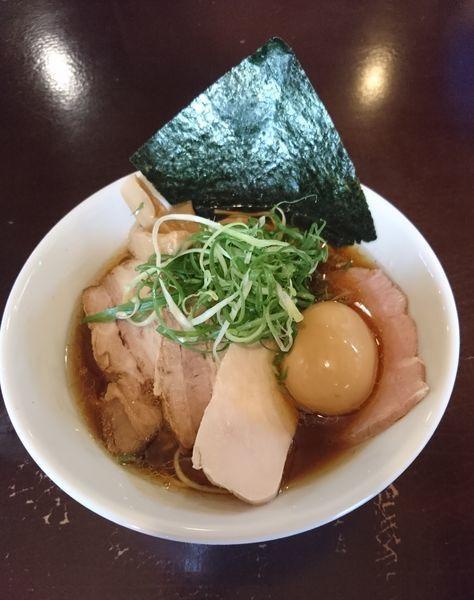「ぜんぶのせ醤油」@らーめんダイニング 庵の写真