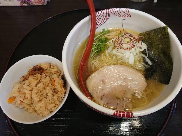 「【限定】貝出汁白醤油らーめん」@麺処 あす花の写真