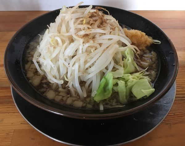 「ニンニク野菜ラーメン(600¥)」@麺屋 たかの写真
