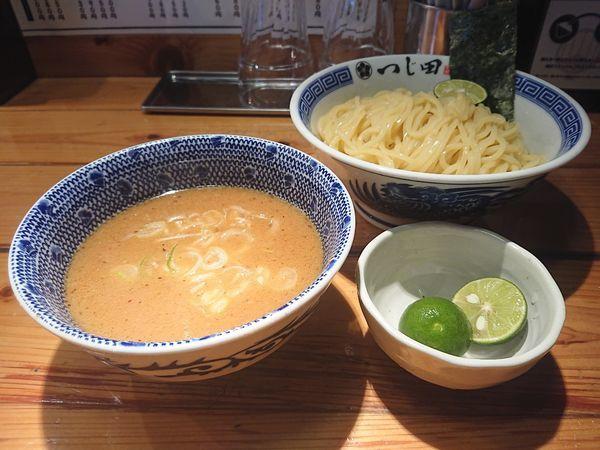 「濃厚つけ麺+すだち」@つじ田 神田御茶ノ水店の写真