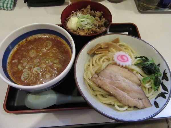 「本日のセット・味噌つけ麺(880円)」@麺屋ゆうの写真