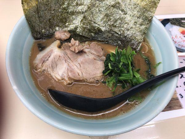 「ラーメン」@横浜家系ラーメン田中の写真