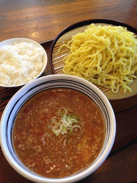 「つけ麺(タンタン麺) 半ライス」@中華 四川の写真