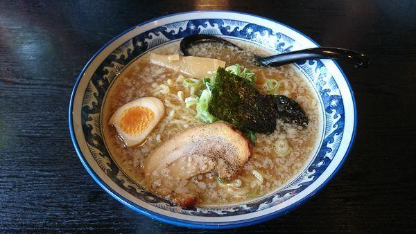 「れんげらーめん」@らーめん食堂 れんげ 茅野店の写真