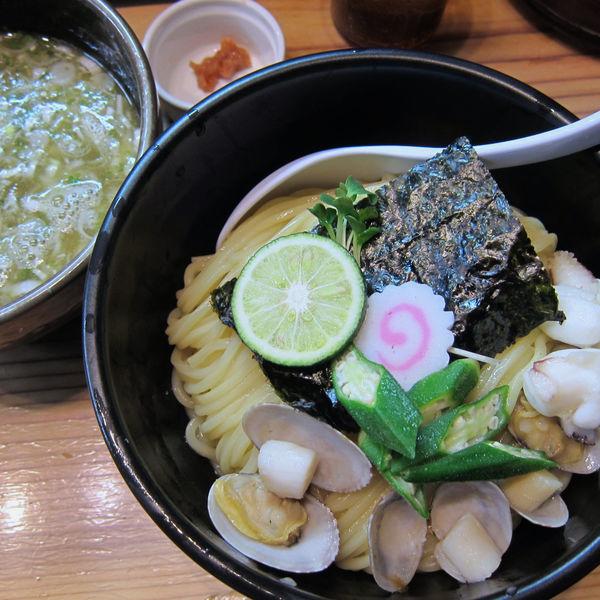 「塩つけ麺 950円(中盛)」@銀座 朧月の写真
