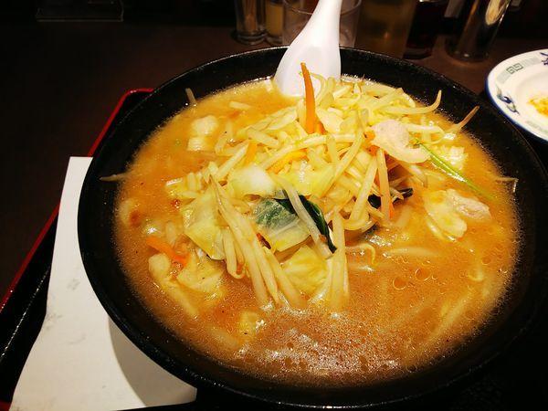「野菜味噌ラーメン」@らーめん 青竜の写真