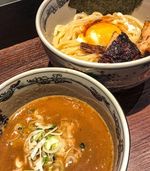 「濃厚神山つけ麺  中 1180円」@麺屋武蔵 神山の写真
