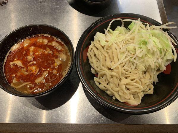 「紅つけ麺 880円」@麺創研 紅 国分寺の写真