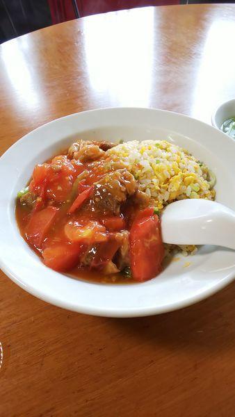 「牛トマト炒飯」@李園の写真