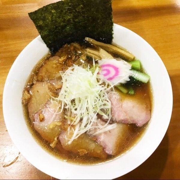 「白河ラーメン 元味」@麺屋 WARAGOYAの写真