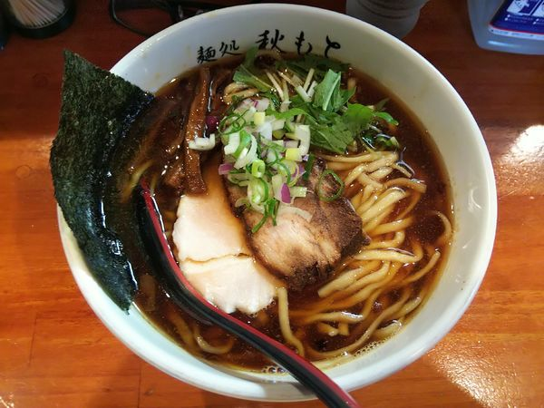 「醤油 大盛(¥800+100)」@麺処 秋もとの写真