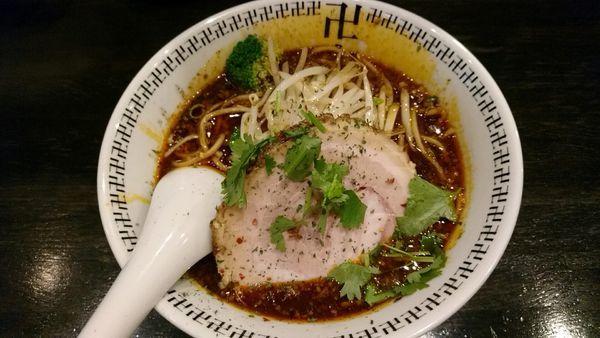 「スパイス・ラー麺_830円」@スパイス・ラー麺 卍力の写真