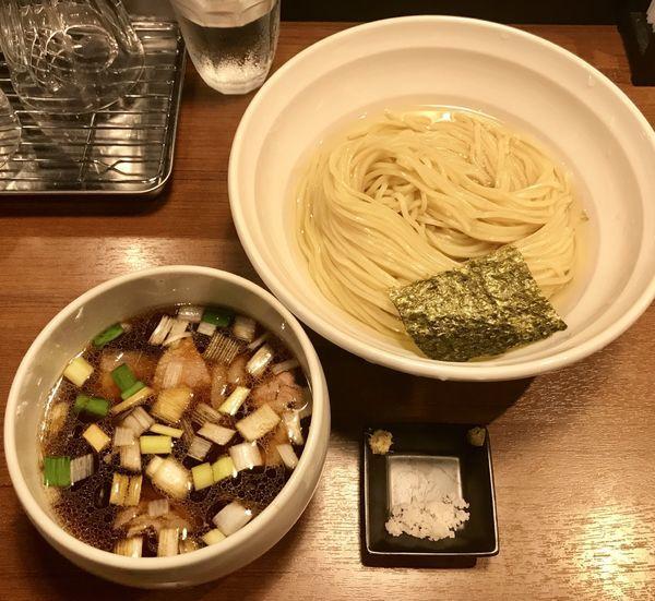 「昆布水の淡麗鴨つけ麺」@麺処 はら田の写真