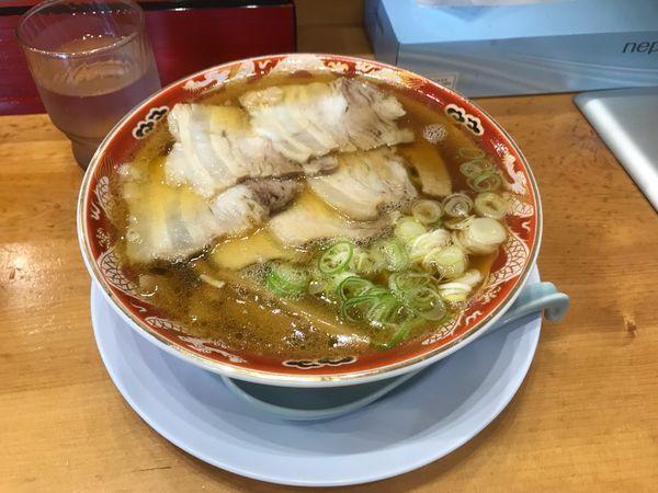 「チャーシュー麺」@らーめん秋田 ひない軒の写真