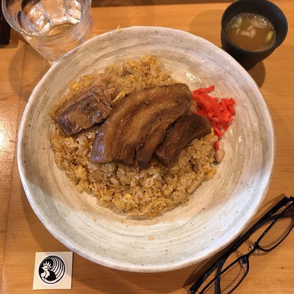 「角煮焼めし」@麺処そばじんの写真