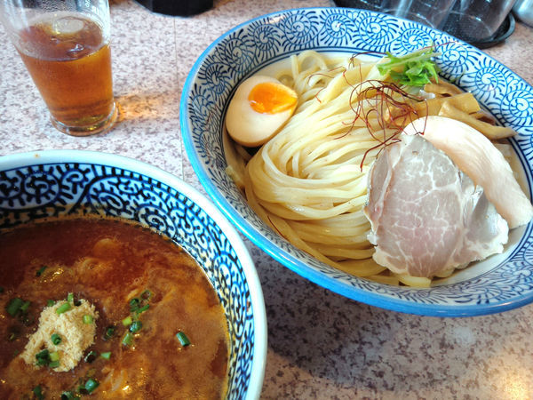 「【限定】海老とトマトのつけ麺(中盛) ¥850」@麺処 かつ善の写真