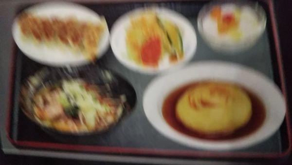 「天津飯定食」@長城飯店の写真