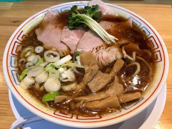 「サバ醤油そば  700円」@サバ6製麺所 福島本店の写真