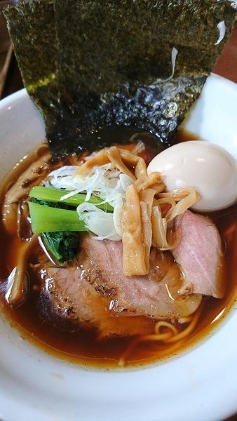 「特製中華そば」@麺や 豊の写真