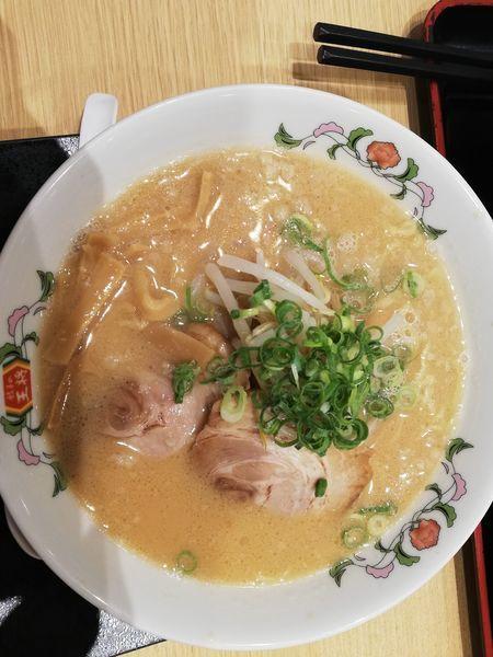 「餃子の王将ラーメン(480円)」@餃子の王将 近鉄奈良駅前店の写真