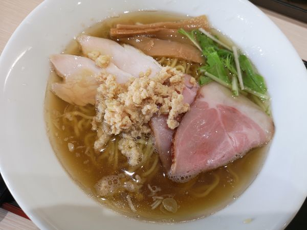 「中華そば(ちぢれ玉子麺)」@けのひの写真