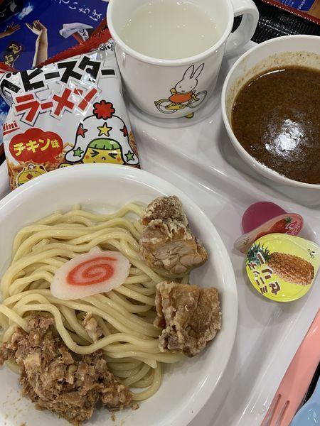 「キッズつけ麺」@つけ麺専門店 三田製麺所 イオンモールナゴヤドーム前店の写真