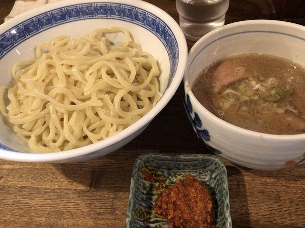 「辛つけ850円+ちょっと肉増し+ビール」@燦燦斗の写真