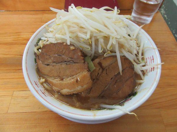 「味噌豚入りラーメン大盛(980円)」@ラーメン 龍郎の写真