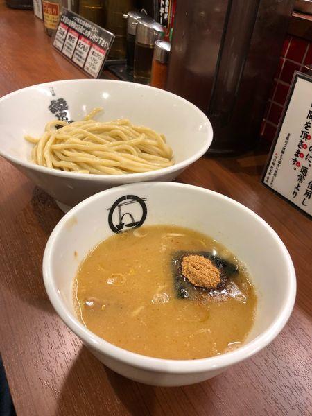 「つけ麺 Bセット」@つけ麺 紋次郎 大阪駅前第二ビル店の写真