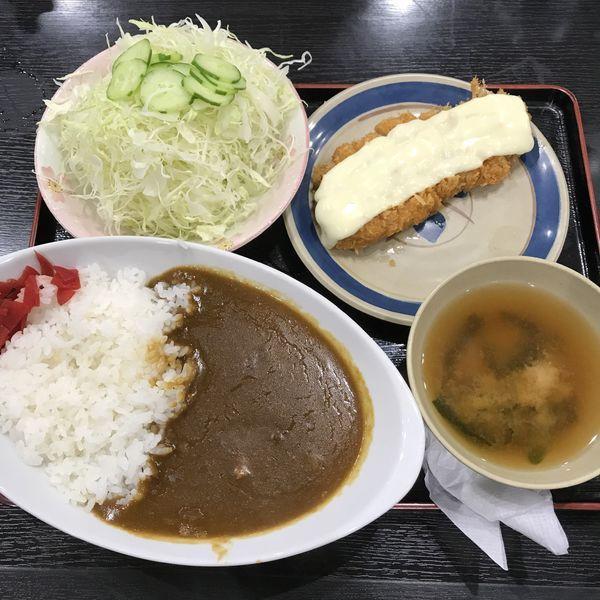 「チーズカツカレー(¥1,200)」@とんかつ 三州屋の写真