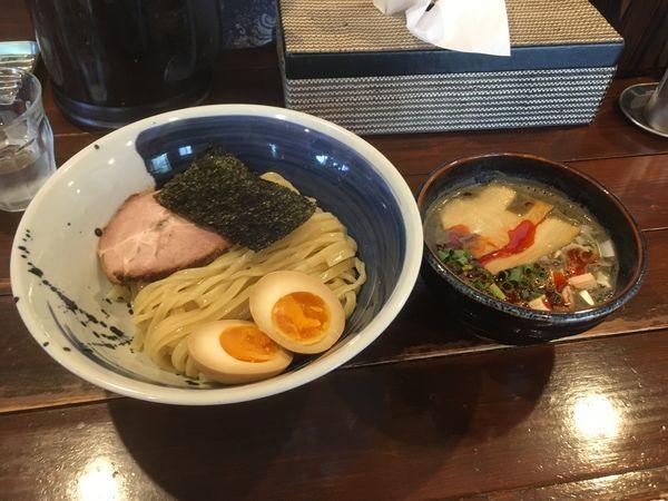 「カラニボつけ麺」@らー麺 山さわの写真