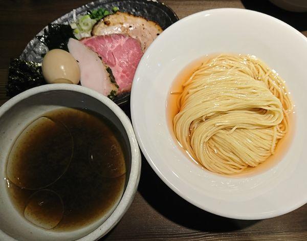 「特製伊勢海老細つけ麺(塩)1100円」@つけ麺 一燈の写真