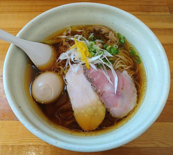 「鶏淡麗らーめん 味玉しょうゆ味」@麺堂HOMEの写真