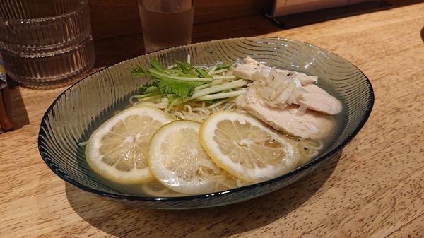 「レモン冷めん800円(込)」@広島ラーメン たかひろの写真