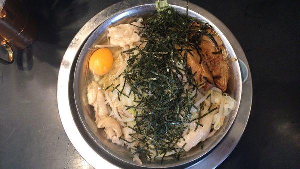 「汁なし 800円」@自家製麺 キリンジの写真
