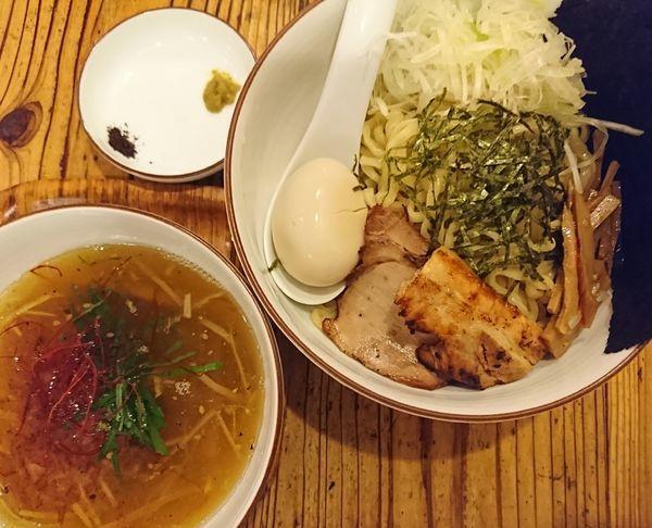 「全部入り塩つけ麺(1200円)」@麺や ひだまりの写真