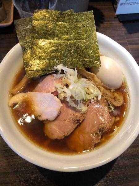 「特製中華そば 950円 大盛100円」@麺や 豊の写真