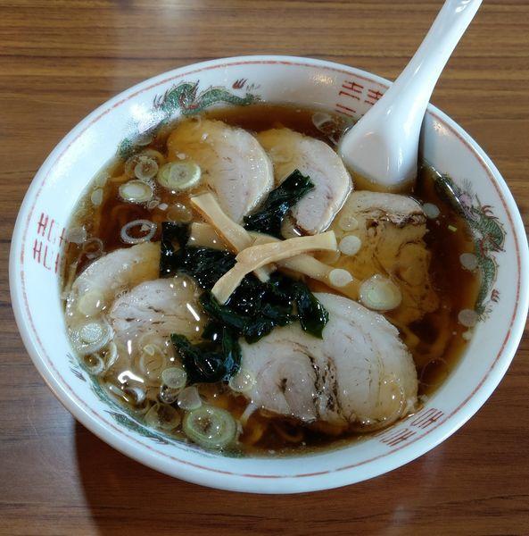 「チャーシュー麺」@中華そば 田中屋の写真