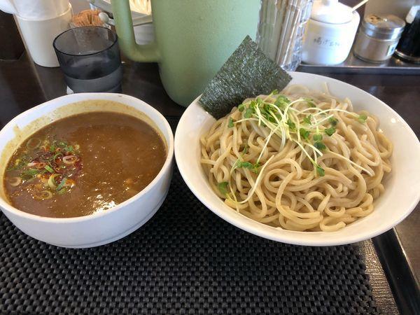 「カレーつけ麺 特盛 950円」@ブラウン製麺所の写真