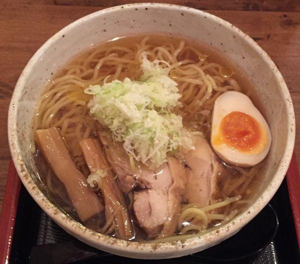 「冷たい肉中華680円」@肉そば家 笑梟の写真