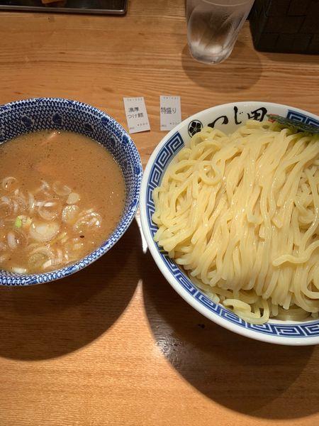 「濃厚つけ麺特盛」@つじ田 日本橋八重洲店の写真