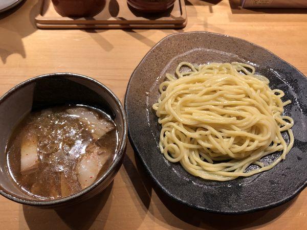 「つけ麺(並)」@つけ麺屋 やすべえ 西池袋店の写真