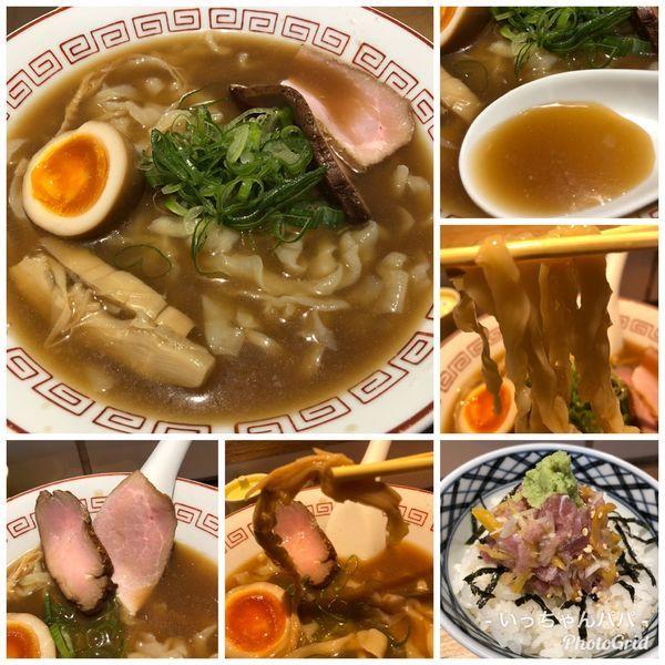「夏限定)きたかた冷麺 820円 他」@超多加水自家製手揉麺 きたかた食堂の写真