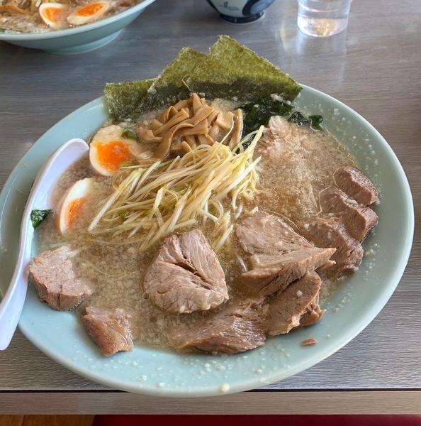 「スーパーチャーシュー麺」@ラーメンショップ 122号騎西店の写真
