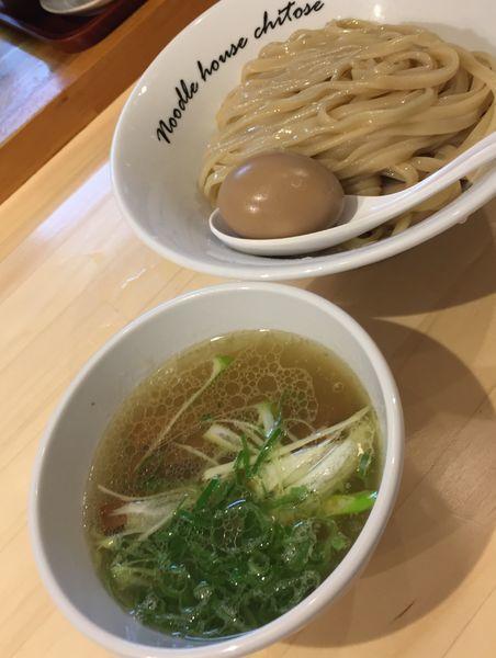 「塩つけ麺930円他」@麺庵ちとせの写真