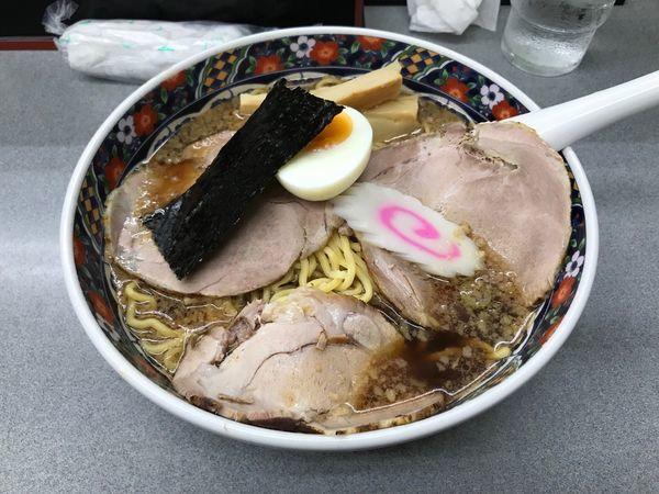 「しょうゆ拉麺 880円」@玉川大盛軒の写真