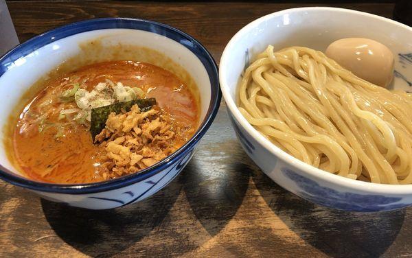 「濃厚魚介鳥豚骨」@つけ麺 ジンベエの写真