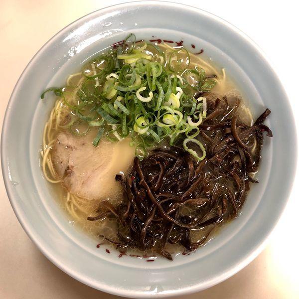 「キクラゲラーメン (600円)」@昭和福一ラーメン 博多駅前店の写真