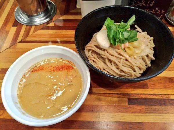 「銀だら西京味噌つけ麺」@鮮魚らーめん 五ノ神水産の写真
