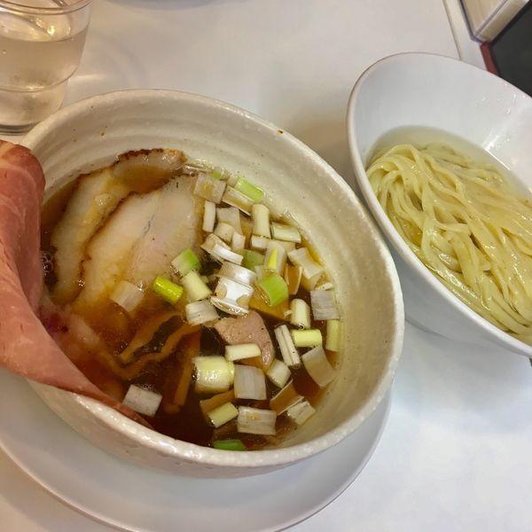 「昆布水つけ麺」@自家製中華そば 麺の虜の写真